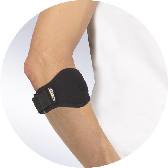 Бандаж ортопедический на локтевой сустав при эпикондилите ORTO BEL-300