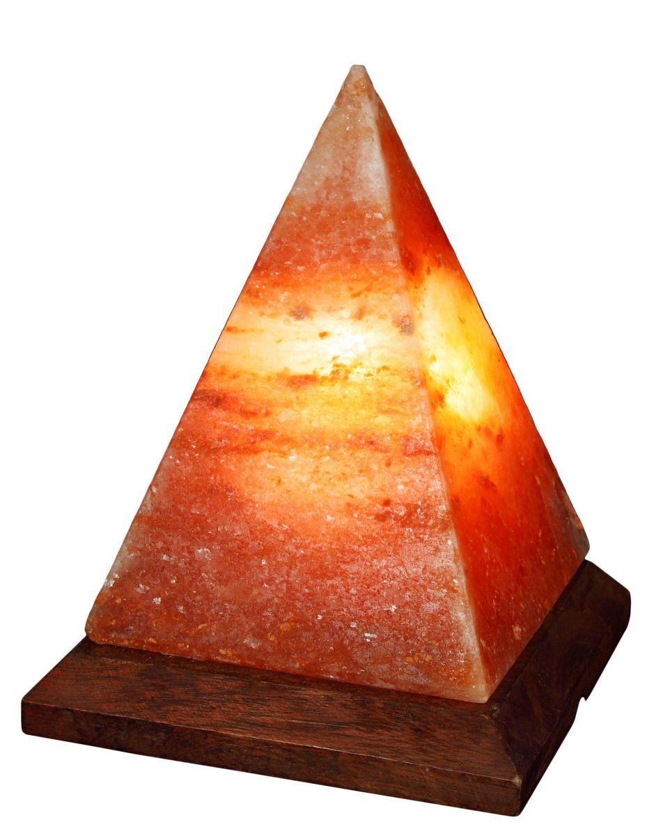 """Соляная лампа """"Пирамида"""", Вес - 3,5 кг"""